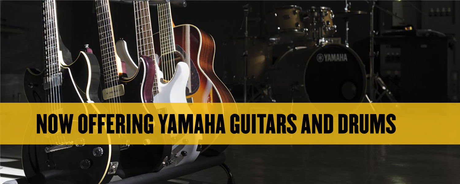 yamaha-guitars-drums-music-stores - The Music Stores